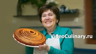 Пирог Зебра - Рецепт Бабушки Эммы