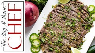 How To Make Slow Cooker Carne Asada | The Stay At Home Chef