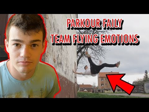 Parkour FAILY TEAMU Flying Emotions - REAKCIA