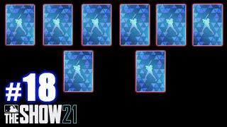 I PULL EIGHT DIAMONDS! | MLB The Show 21 | Packs #18