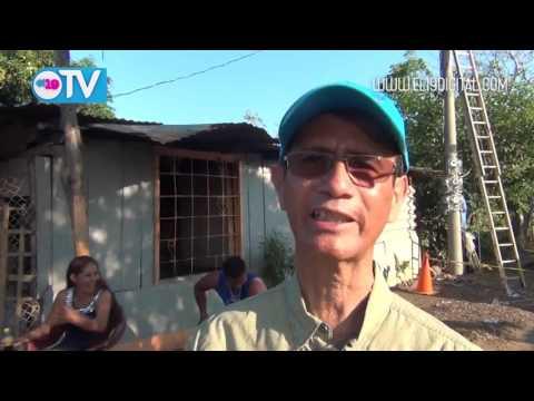 Gobierno lleva proyectos de electrificación en barrios de Granada