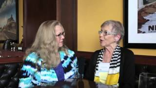 An interview with quilt artist Yvonne Porcella at the SAQA Conference in Arlington, Virginia.