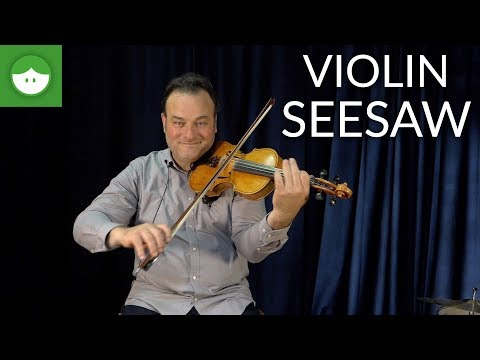 Daily Warm-Up for Beginner Violin: the Seesaw Exercise