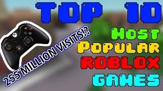 Top 10 MOST POPULAR ROBLOX GAMES