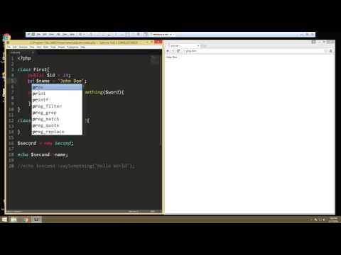 Learn about Object Oriented Fundamentals in PHP - Part 6