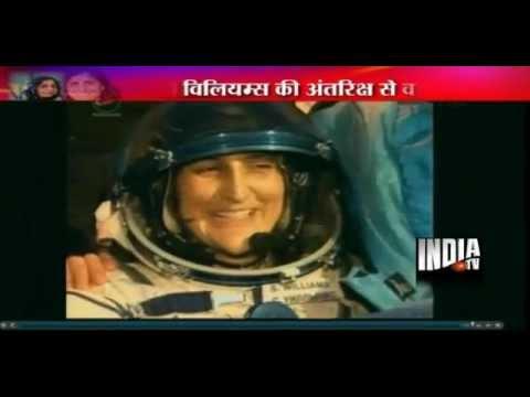 Sunita Williams returns from space