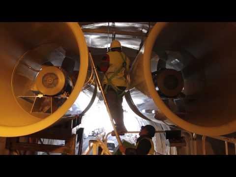 Строительство тоннеля в Испании. Оборудование Sodeca.