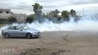 [RoadandTrack] Hybrid Donuts! 2013 BMW Active Hybrid 3