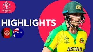 David Warner Hits 89* | Afghanistan vs Australia - Match Highlights | ICC Cricket World Cup 2019