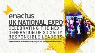 2019 Enactus UK National Expo - Flashback