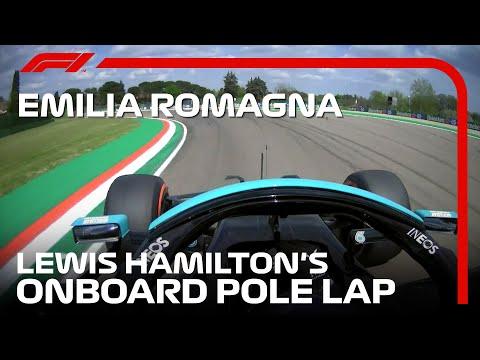 ルイス・ハミルトンのオンボード映像 F1第2戦エミリア・ロマーニャGP(イモラ)予選ポールポジション動画