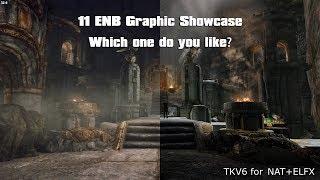 2 Vanilla and 11 ENB presets Graphic Showcase