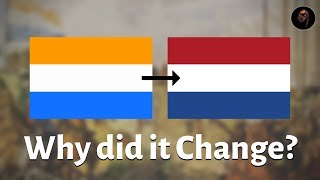 Why isn't the Dutch Flag Orange?