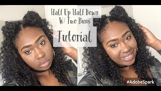 How To Space Buns Half Up Half Down Free Online Videos Best Movies