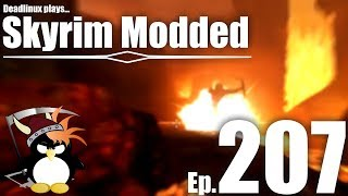 """""""First, Some Pie!"""" Sulfur and Fire pt 1 - Skyrim Modded Ep 207"""