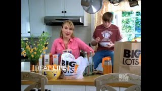 "Meredith Thomas in Big Lots Commercial ""Man Beast"""