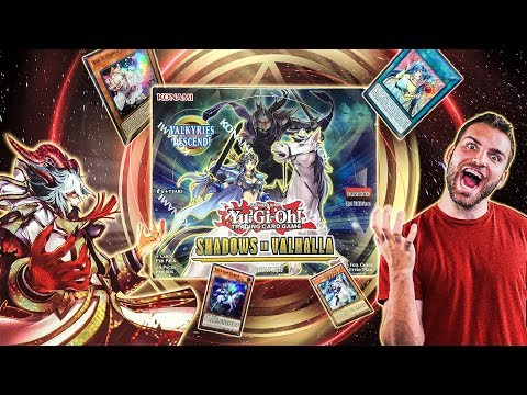*NEW* YuGiOh SHADOWS in VALHALLA Box Opening & MASTER Set Review