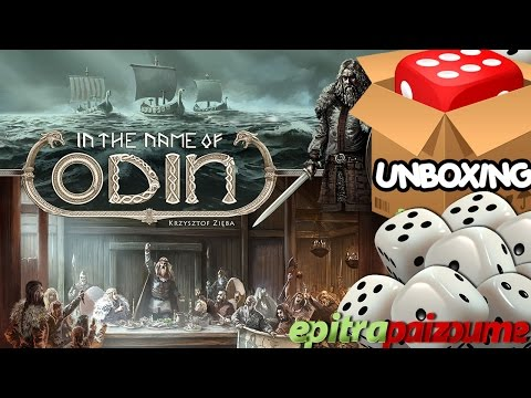In the Name of Odin - Unboxing Video (EN) by Epitrapaizoume