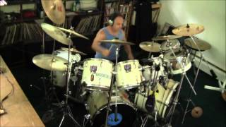 Eric Clapton - Let It Rain - drum cover- dedicated to Jim Gordon