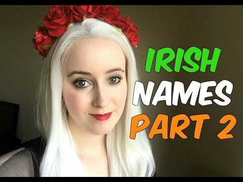 How To Pronounce Traditional Irish Names! (Part 2)
