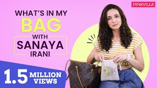 What's in my bag with Sanaya Irani | Fashion | Television | Pinkvilla