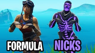 Nicks & Formula become the MOST Toxic Fortnite Players! (SUPER TOXIC)