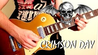 'CRIMSON DAY' by Avenged Sevenfold - FULL INSTRUMENTAL COVER by Karl Golden (Slow motion)