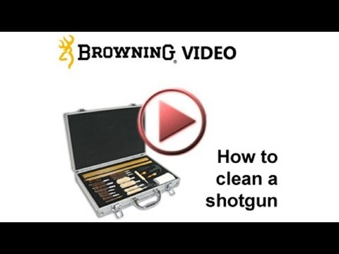 How to clean a shotgun