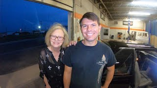 Surprising a Mom by restoring the Mustang of the son she lost in 2006