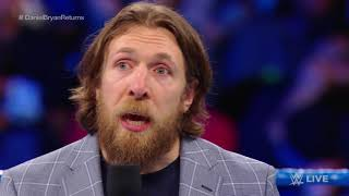 Daniel Bryan Addresses WWE Universe For First Time After Being Medically Cleared To Wrestle | ESPN