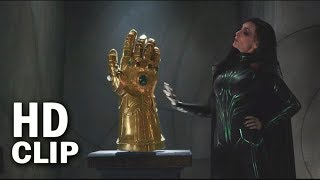 Infinity Gauntlet In Thor Ragnarok Movie Scene | Marvel Thor Ragnarok 2017