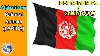 National Anthem of Afghanistan INSTRUMENTAL & SONG (Lyrics) ❤️Afghanistan National Anthem❤️