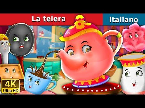La teiera | Storie Per Bambini | Fiabe Italiane
