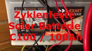 #Zyklenfeste #100Ah - #C100 #Solar #Batterie mit #VEVOR #Wechselrichter im Test