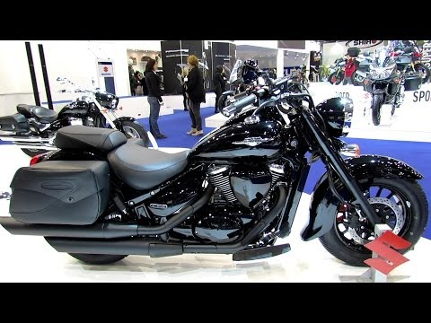 2014 Suzuki Intruder C800B Walkaround - 2013 EICMA Milan International Motorcycle Exibition