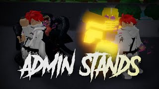 Showcasing Admin Stands in this Unknown ABD Game (A Great Day) Roblox