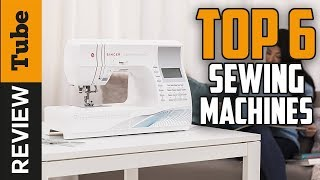 ✅Sewing: Best Sewing Machine 2018 (Buying Guide)