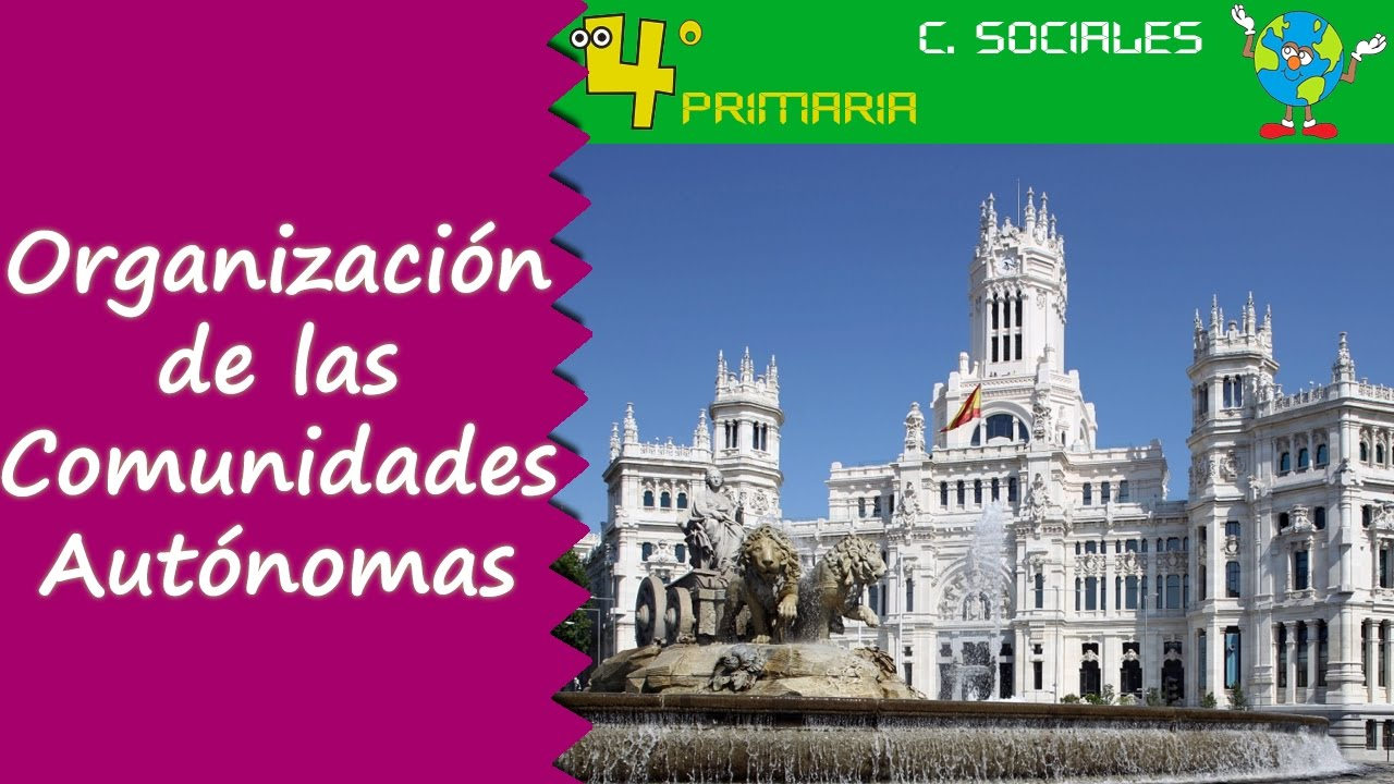 Ciencias Sociales. 4º Primaria. Tema 5. Organización de las Comunidades Autónomas