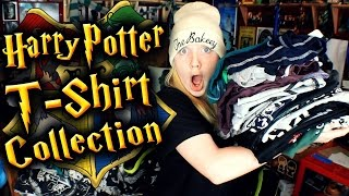 My Harry Potter T-shirt Collection