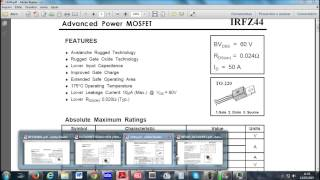 transistor mosfet irfz44n datasheet - ฟรีวิดีโอออนไลน์ - ดู