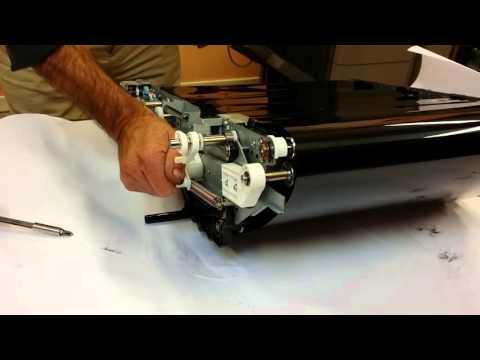 CANON IRA C7260/70 remplacement toile CTI et raclette CTI
