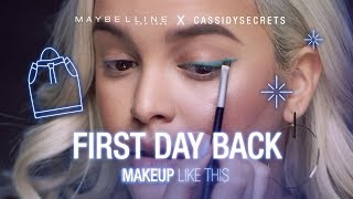 How To: Easy Winged Eyeliner Tutorial Ft. CassidySecrets   Maybelline New York