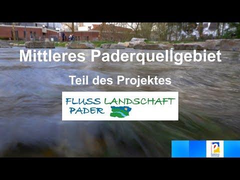 Video zur Umsetzung der Umgestaltung des mittleren Paderquellgebiets
