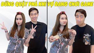 ĐỪNG QUẬY PHÁ KHI VỢ ĐANG CHƠI GAME | CrisDevilGamer và Mai Quỳnh Anh