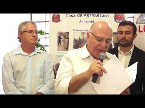Força Regional 2  Casa da Agricultura  Anhembi  Programa Microbacias 25 01 2017