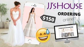 I ORDERED WEDDING DRESSES ONLINE!! (All Under $300) JJsHouse 2020 Wedding Collection
