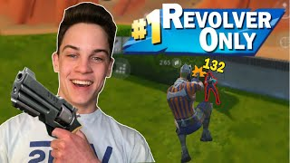Revolver Only Challenge on Fortnite Mobile! (Difficult)