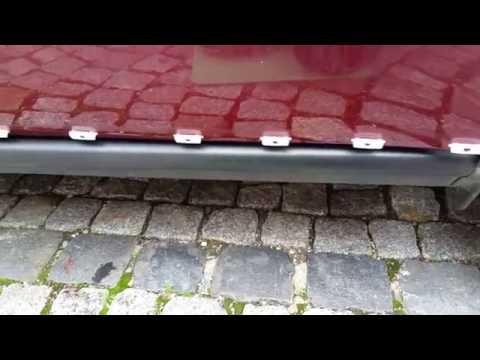 Audi A4 8D B5 Limo Türleisten / Gummileisten entfernen & erneuern