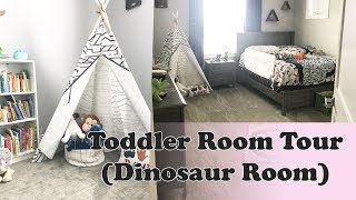 TODDLER ROOM TOUR! (Dinosaur Room)