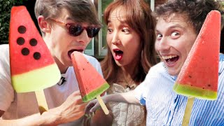 Most Surprising British Ice Creams!! (Haribo Ice Cream + more)